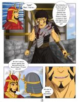 Duel of Legends, Page 2 by BlackBeltMaster