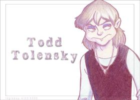 Todd--colored pencil by idgiebay