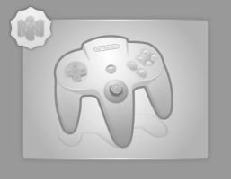 N64 Pad by Silver-PyroTech