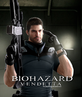 Resident Evil Vendetta - Chris Redfield Render by FearEffectInferno