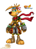 TY The Tasmanian Tiger:: by SpyxedDemon