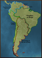 South America - Anglo-Iberia by Neethis