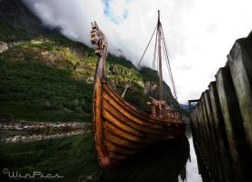 The Viking valley of Gudvangen 3 by WinPics