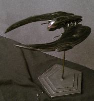 Cylon Raider by Roguewing