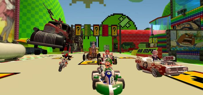Swag Kart Racing by borisl5596