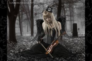 gothic angel by DenysRoqueDesign