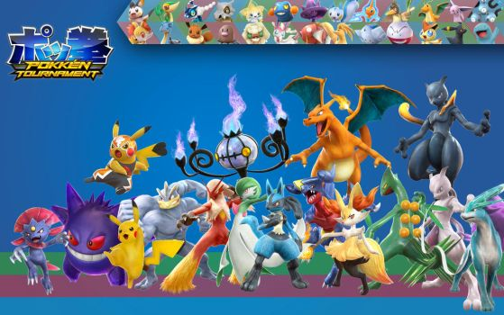 Pokken Tournament by PacDuck