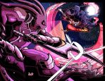 Glyph and Mano: Battle in The Sahara! By endshark! by Estonius