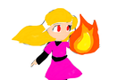 Fire Powered girl... :| by Tyme78