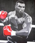 Iron Mike Tyson by purposemaker