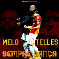 Felipe Melo and Alex Telles - Sempre Danca by seloyxx