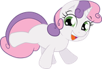 Surprise Sweetie belle by shaynelleLPS