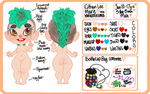 Chibi Ref Sheet Example by Narkootikumid