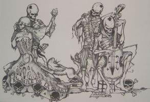dance of death by HOMELYVILLAIN