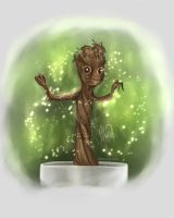 Baby Groot by Draconis-Silver