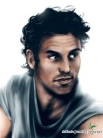 Mark Ruffalo - Waking Life by riotfaerie