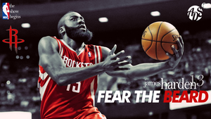 James Harden Houston Rockets Wallpaper by albertodsantos