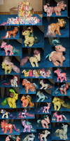 All My Little Ponies by Cattensu