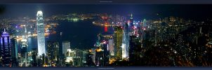 Hong Kong nightscape 2004 9 11 by geckokid