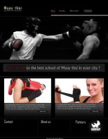Projekt Muay thai by artwebdesigner