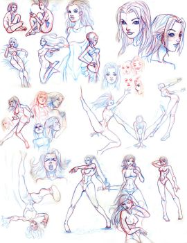 figure and movement studies 3 by Truz98