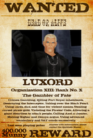 Wanted: Luxord by gttorres