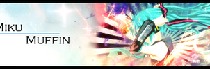 Miku sign by MF21