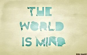 The World Is Mind by Aminebjd