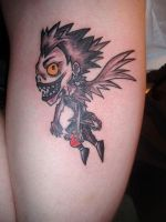 Ryuk by kama-tattoo