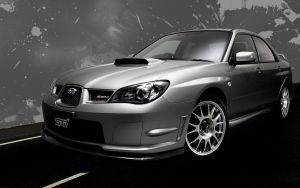 Subaru Impreza Sti Wallpaper by DejoZ