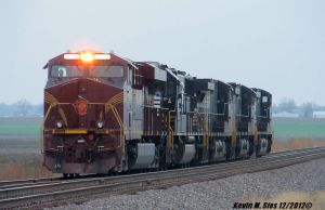 Pennsylvania Heritage #8102 leads engine move #964 by EternalFlame1891