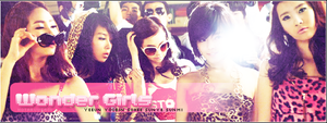 Wonder Girls banner by HotaruUsagi