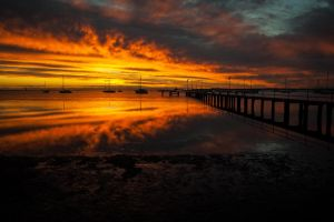 Corio Bay Sunrise 2 by DanielleMiner