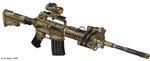 M4A2 Training Rifle by the-maker