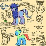 Flubs - Ref Sheet by MyuOneeChan