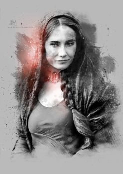 Melisandre - Game of Thrones by Etienne-Ripzaad