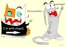 Catscratch- I'm with stupid by 1allstar03