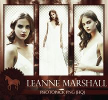 Photopack PNG: Leanne Marshall by Unicorn07