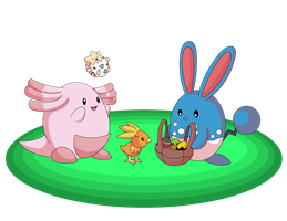 Pokemon Easter 2012 by Sandstormer