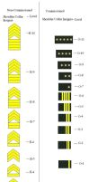 NUN Army Rank Structure by RDFAF