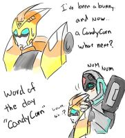Blurr Candy Corn by bbpuyo