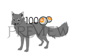 Use this Fox Lineart for 100 points! by Capukat