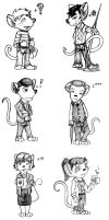 Sherlock Meets the Great Mouse Detective by standonyourown