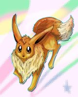 Eevee by xBlue-Lullabyx