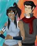 Makorra by Featherwolf-Pluma