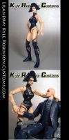 Custom X-Men Lilandra Figure by KyleRobinsonCustoms