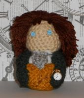 8th Doctor Amigurumi by Craftigurumi