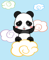 Cloud Panda by Nashiil