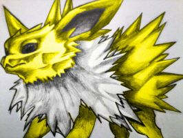 Jolteon Colured by Electric-Meat