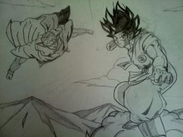 Goku And Piccolo by epicpwnage2100